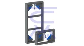 Проемообразователь для вертикальной формовки